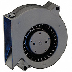 Flatpack Axial Fan, 12VDC, 3In H, 3In W