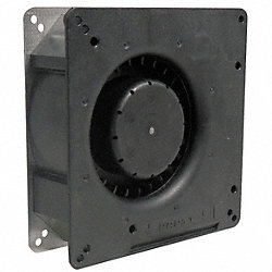 Axial Fan, 24VDC, 5-1/3In H, 5-1/3In W