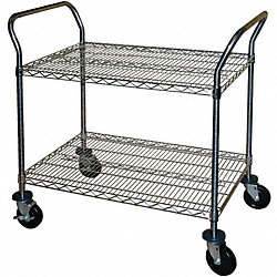 Wire Cart, 2 Shelf