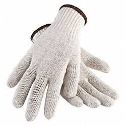 Knit Glove, Poly/Cotton, Women's XL, PR