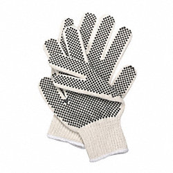 Knit Glove, Poly/Cotton, Men's S, PR