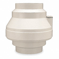 Inline Centrifugal Duct Fan, 12-1/4 In. L