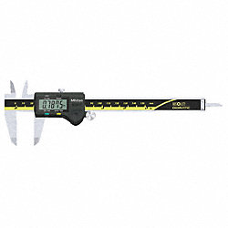Digital Caliper, 0-6 In, Solar