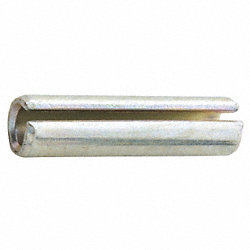 Spring Pin, Slot, 3/32x1 In L, Pk500