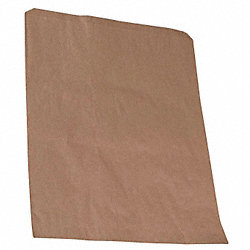 Paper Bag, Brown, 2-3/4 In., PK 500