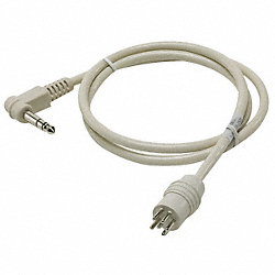 Healthcare TV Jumper Cable, 1/4 to 6 Pin