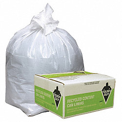 Recycled Can Liner, 12 to 16 gal., PK250