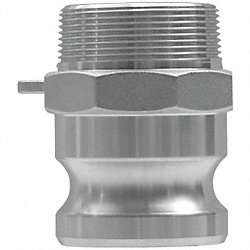 Cam and Groove Adapter, 1 1/2 In, 250 PSI
