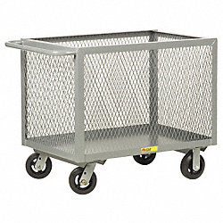 Mesh Truck, 30 In. W, 54 In. L, Powder Coat