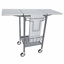 Mobile Work Table, 20 W x 46 In. L