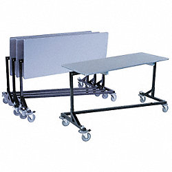 Nesting Mobile Work Table, 63 In. L