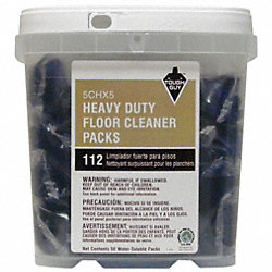 Heavy Duty Floor Cleaner, 45g, PK 50