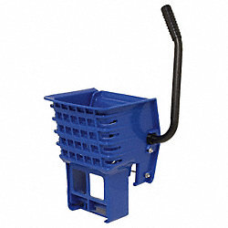 Mop Wringer, Side Press, 16 to 32 oz., Blue