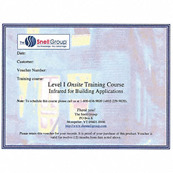 Level I Thermography Training, Onsite