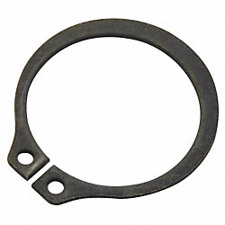 Retain Ring, Ext, Shaft D 1 1/2, PK25