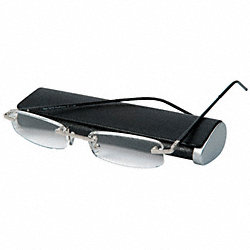 Reading Glasses, +2.0, Clear, Acrylic