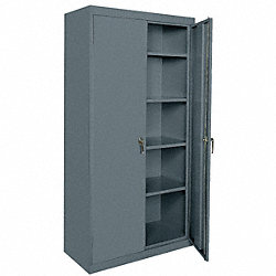 Storage Cabinet, Welded, Charcoal