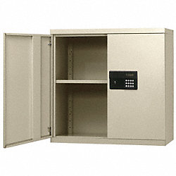 Wall Mount Storage Cabinet, Beige