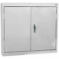 Wall Mount Storage Cabinet, Dove Gray