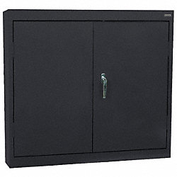 Wall Mount Cabinet, Welded, Black