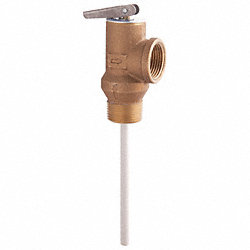 T & P Relief Valve, 3/4 In. Inlet
