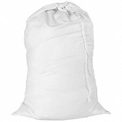 Laundry Bag, White, Cotton
