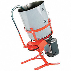 Asphalt/Concrete Mixer, Stationary, 5 Gal