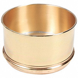 Separator Pan, Brass, 8 In Dia, 4 In Deep