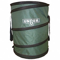 Leaf/Litter Bag, Collapsible, 30 G, Green