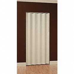 Folding Door, 96 x 70 1/2 In., White