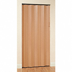 Folding Door, 80 x 70 1/2 In., Oak
