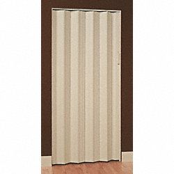Folding Door, 80 x 108 In., Khaki