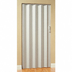 Folding Door, 80 x 32 In., White