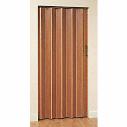 Folding Door, 80 x 124 In., Honeywood