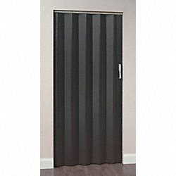 Folding Door, 96 x 64 In., Ebony Ash