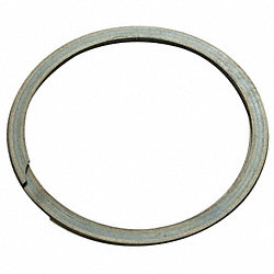 Spiral Retain Ring, Ext, 3 1/2 In