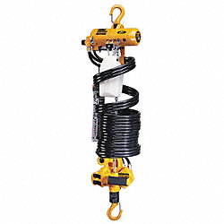 Air Chain Hoist, 500 lb. Cap., 13 ft. Lift