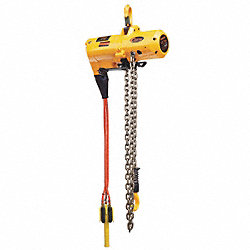 Air Chain Hoist, 500 lb. Cap., 10 ft. Lift