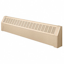 Assembled Baseboard Enclosure, 72 In. L