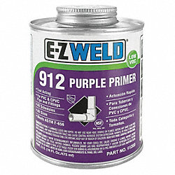 Primer, 32 Oz, Purple, PVC, CPVC