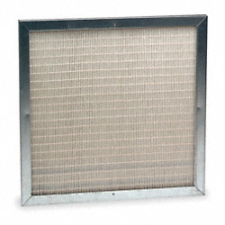 Slim Line Mini Pleat Air Filter, 24 In. H