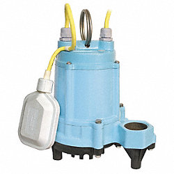Effluent/Sump Pump, High Temp, 1/2 HP