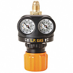 Regulator, LP, 1 Stage, 9/16-18LH, 125 PSI
