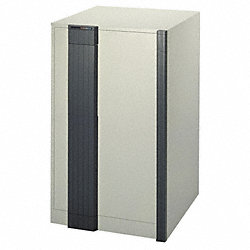 Media Fire Cabinet, 32Hx22W, Putty