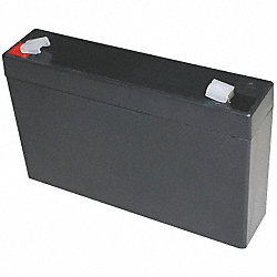 Battery, Sealed Lead Acid, 6V, 7Ah, Faston