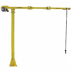 Articulating Arm, Column Mount, L8Ft, 435Lb