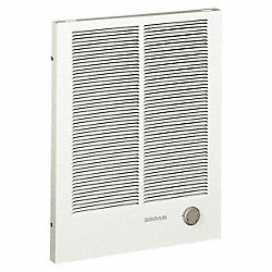 Residential Electric Wall Heater, White