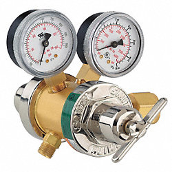 Two Stage Regulator, Dual Flow, N/He/Inert