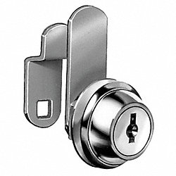 Disc Cam Lock, Brass, Key Different