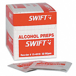 Alcohol Towelettes, PK 50
